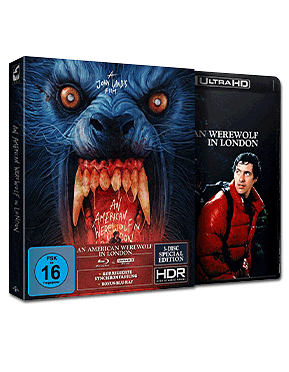 American Werewolf in London - Special Edition Blu-ray UHD (3 Discs)