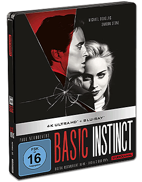 Basic Instinct - Limited Steelbook Edition Blu-ray UHD (2 Discs)
