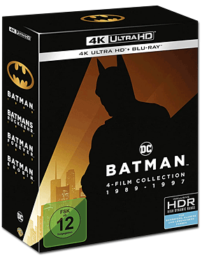 Batman - 4-Film Collection 1989-1997 Blu-ray UHD (8 Discs)