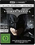 Batman Begins Blu-ray UHD (2 Discs) (4K Ultra HD Filme)