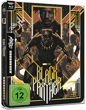 Black Panther - Limited Mondo Steelbook Edition Blu-ray UHD (2 Discs)