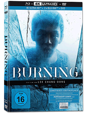 Burning - Collector's Edition Blu-ray UHD (4 Discs)