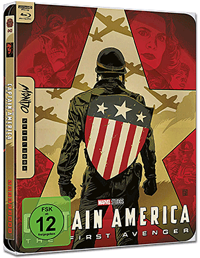 Captain America: The First Avenger - Limited Mondo Steelbook Edition Blu-ray UHD (2 Discs)