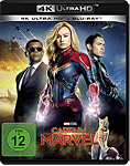 Captain Marvel Blu-ray UHD (2 Discs)