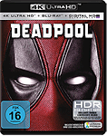 Deadpool 1 Blu-ray UHD (2 Discs)