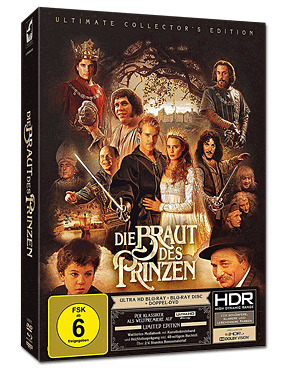 Die Braut des Prinzen - Ultimate Collector's Edition Blu-ray UHD (4 Discs)