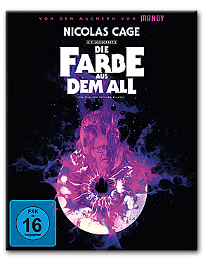 Die Farbe aus dem All - Color Out of Space - Mediabook A Blu-ray UHD (3 Discs)