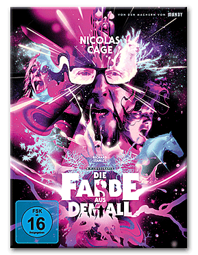 Die Farbe aus dem All - Color Out of Space - Mediabook B Blu-ray UHD (3 Discs)