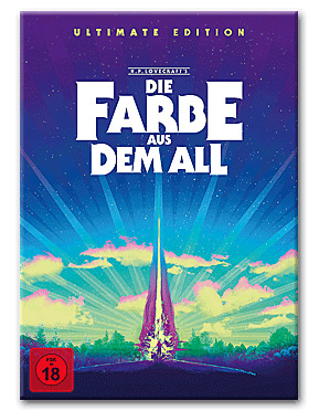 Die Farbe aus dem All - Color Out of Space - Ultimate Edition Blu-ray UHD (7 Discs)