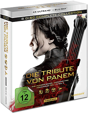 Die Tribute von Panem - Complete Collection Blu-ray UHD (8 Discs) (UHD)