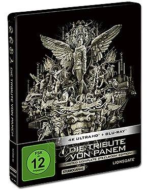 Die Tribute von Panem - Limited Complete Collection Blu-ray UHD (8 Discs)