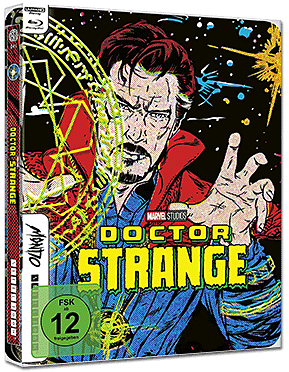 Doctor Strange - Limited Mondo Steelbook Edition Blu-ray UHD (2 Discs)