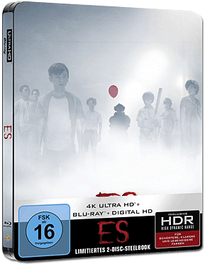 Es (2017) - Steelbook Edition Blu-ray UHD (2 Discs)