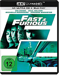 The Fast and the Furious 4: Fast & Furious Blu-ray UHD (2 Discs)
