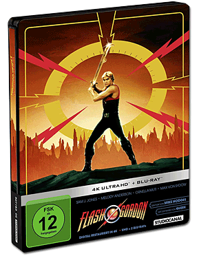 Flash Gordon - Steelbook Edition Blu-ray UHD (3 Discs)