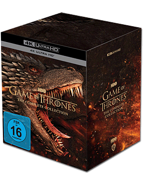 Game of Thrones - Die komplette Serie Blu-ray UHD (33 Discs)