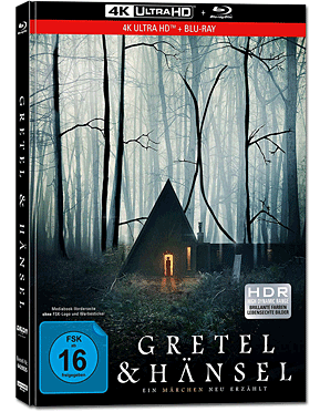 Gretel & Hänsel - Limited Collector's Edition Blu-ray UHD (2 Discs)