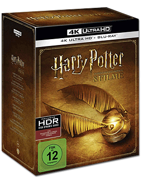 Harry Potter - Complete Collection Blu-ray UHD (16 Discs)