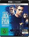 Jack Ryan: Shadow Recruit Blu-ray UHD (2 Discs)