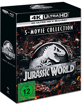 Jurassic World - 5-Movie Collection Blu-ray UHD (10 Discs)