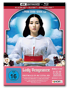 Lady Vengeance - Limited Collector's Edition Blu-ray UHD (3 Discs)