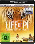 Life of Pi: Schiffbruch mit Tiger Blu-ray UHD (2 Discs)