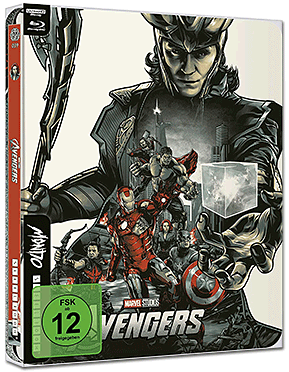 Marvel's The Avengers - Limited Mondo Steelbook Edition Blu-ray UHD (2 Discs)