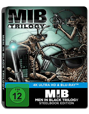 Men in Black - MIB Trilogy - Steelbook Edition Blu-ray UHD (6 Discs)
