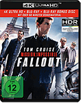 Mission: Impossible 6 - Fallout Blu-ray UHD (3 Discs)