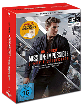 Mission: Impossible - 6-Movie Collection Blu-ray UHD (13 Discs)