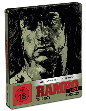 Rambo - Limited Edition Trilogie Blu-ray UHD (6 Discs)