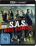 S.A.S. Red Notice Blu-ray UHD (2 Discs)