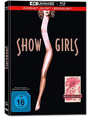 Showgirls - Limited Collector's Edition Blu-ray UHD (3 Discs)