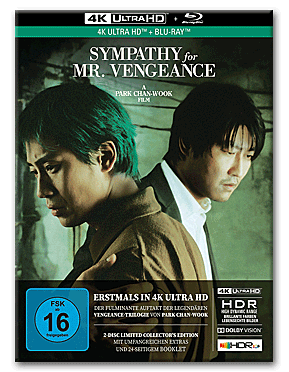 Sympathy for Mr. Vengeance - Limited Collector's Edition Blu-ray UHD (2 Discs)