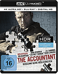 The Accountant Blu-ray UHD (2 Discs)
