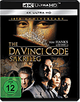 The Da Vinci Code Blu-ray UHD