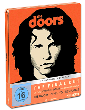 The Doors - The Final Cut Steelbook Blu-ray UHD (3 Discs)