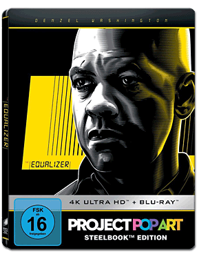 The Equalizer - Steelbook Edition Blu-ray UHD (2 Discs)