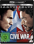 The First Avenger: Civil War Blu-ray UHD (2 Discs)