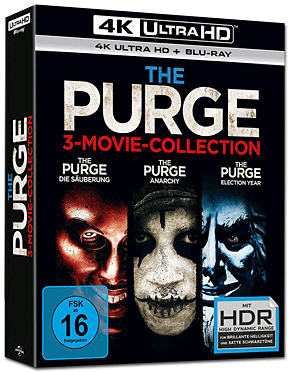 The Purge - 3-Movie-Collection Blu-ray UHD (6 Discs)