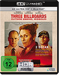 Three Billboards Outside Ebbing, Missouri Blu-ray UHD (2 Discs)