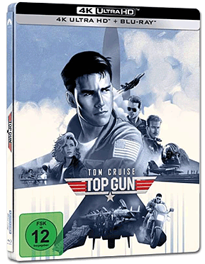 Top Gun - Limited Steelbook Edition Blu-ray UHD (2 Discs)