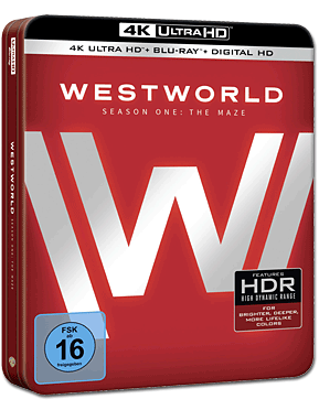 Westworld: Staffel 1 - Limitierte Sammleredition Blu-ray UHD (6 Discs) (4K Ultra HD Filme)
