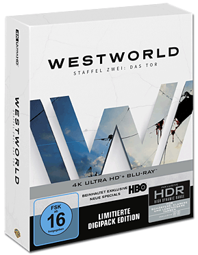 Westworld: Staffel 2 - Digipack Edition Blu-ray UHD (6 Discs)
