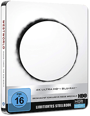 Westworld: Staffel 3 - Limited Steelbook Edition Blu-ray UHD (6 Discs)