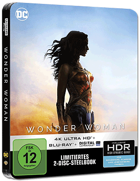 Wonder Woman - Steelbook Edition UHD (2 Discs)