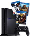 Sony Playstation 4 PAL - Sony Set 500 GB -5. Welle- (Sony) (Playstation 4)
