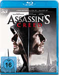 Assassin's Creed Blu-ray 3D (2 Discs) (Blu-ray 3D Filme)