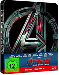 Avengers: Age of Ultron - Steelbook Edition Blu-ray 3D (2 Discs) (Blu-ray 3D Filme)