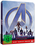 Avengers: Endgame - Steelbook Edition Blu-ray 3D (3 Discs)